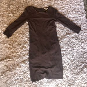 Brown Forever 21 bodycon dress